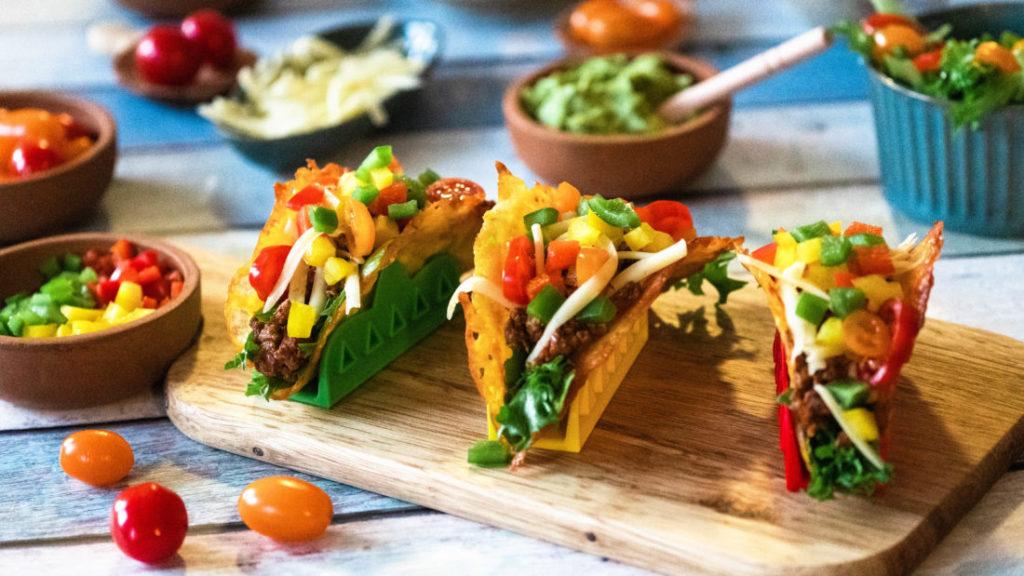 Taco Shell på KUN 1 ingrediens, laget på 5 min.
